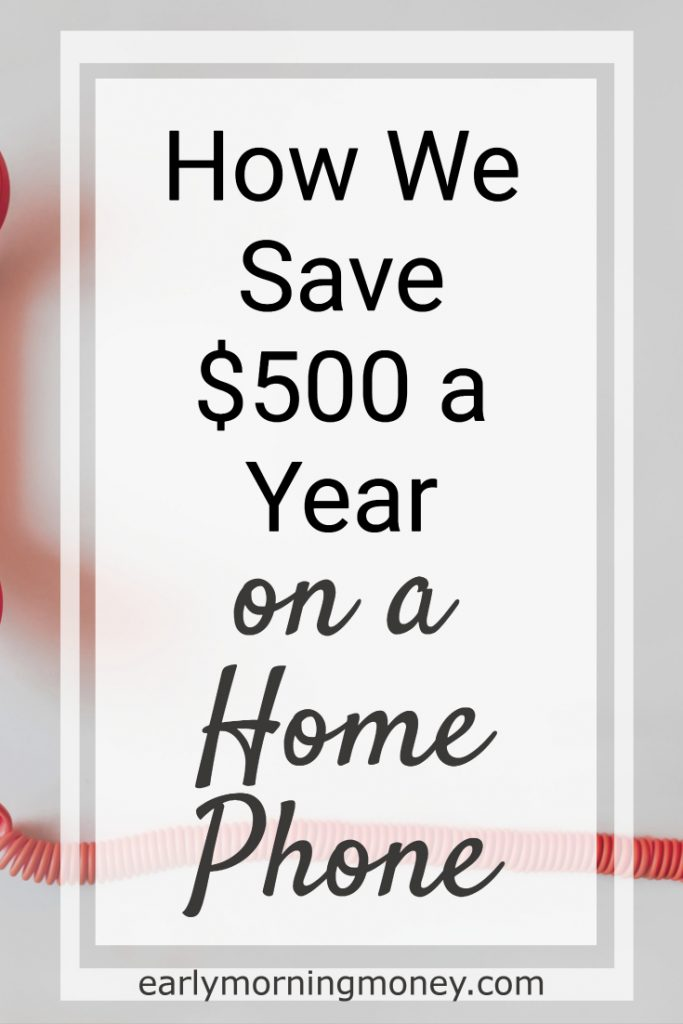 How we got free home phone service with Google and save $500 a year.