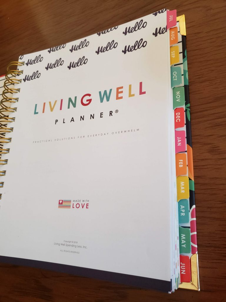 Living Well Planner Review